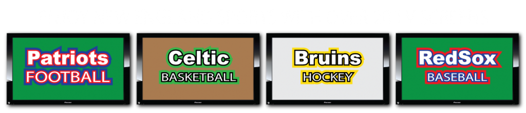 Enjoy New England Sports with over 20 TV Screens