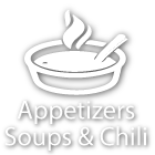 Appetizers, Soups & Chili